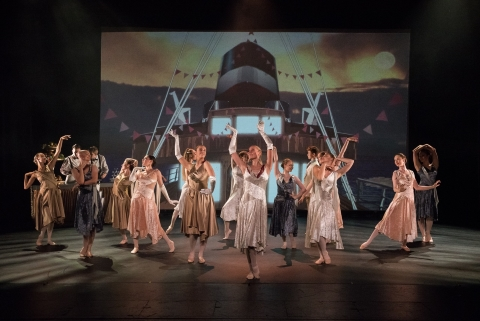 The National Youth Ballet in Ruth Brill's Steamboat SummerPhoto Sean Purser