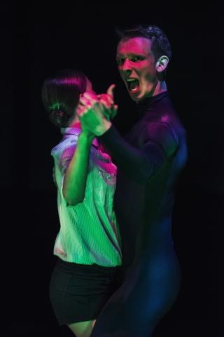 Daria Ivanova and Daniel Norgren-Jensen in Serious RefrainPhoto Carl Thorborg