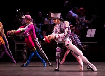 Birmingham Royal Ballet in Kenneth MacMillan's Elite SyncopationsPhoto Andy Ross