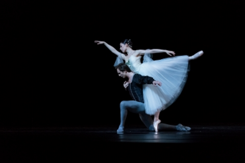 Maia Makhateli and Artur Shesterikov in the Act Two pas de deux from GisellePhoto Michel Schnater