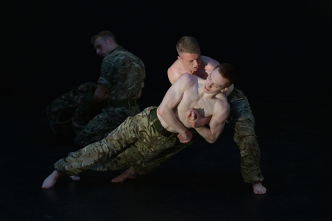 5 SOLDIERS: The Body is the FrontlinePhoto Brian Slater