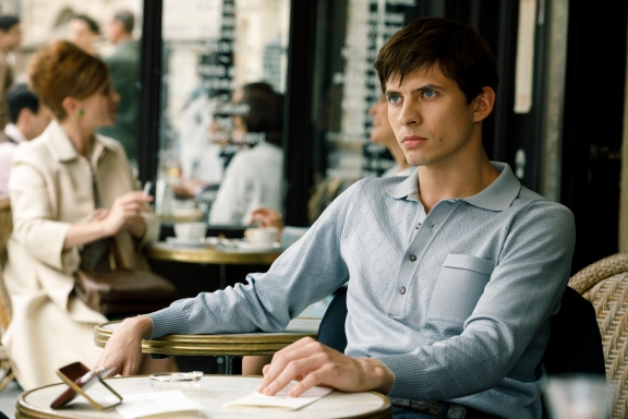 First sighting of The White Crow, Ralph Fiennes' new film about Rudolf Nureyev's defection to the West