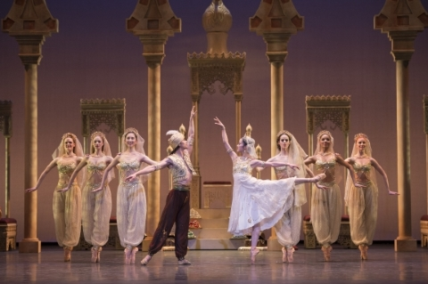 Rich and lavish: Birmingham Royal Ballet's Aladdin