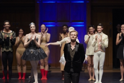 Tom takes his bow after the first Ballet United GalaPhoto Danny J Peace