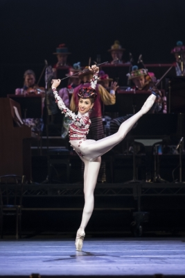 Yasmine Naghdi of The Royal Ballet in Elite SyncopationsPhoto ROH/Bill Cooper