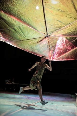 Lin I-fang in Su Wen-chi's Unconditional Love and FactPhoto Li Xin-zhe