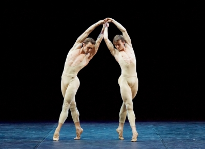 Alessandro Staiano and Marian Walter in Proust ou les Intermittences du Coeur in Men in MotionPhoto Elliott Franks
