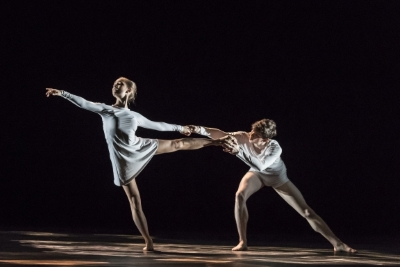Students of The Royal Ballet School in Didy Veldman's See Blue ThroughPhoto The Royal Ballet School/Johan Persson