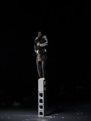 Alexander Leonhartsberger as Jimmy in Swan Lake/Loch na hEala Photo Justin Tallis