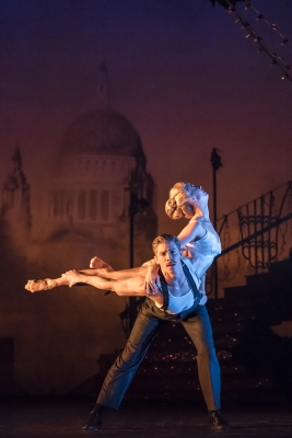 Ashley Shaw (Cinderella) and Andrew Monaghan (Harry) in Matthew Bourne's CinderellaPhoto Johan Persson