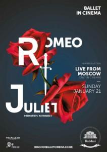 Bolshoi Ballet: Romeo and Juliet poster