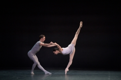 Tamara Rojo and Joseph Caley in Song of the EarthPhoto Laurent Liotardo