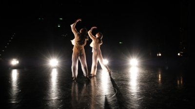 Yanaëlle Thiran, and Shivaangee Agrawal in Swapping ShadowsPhoto Madeline Rose Elliott