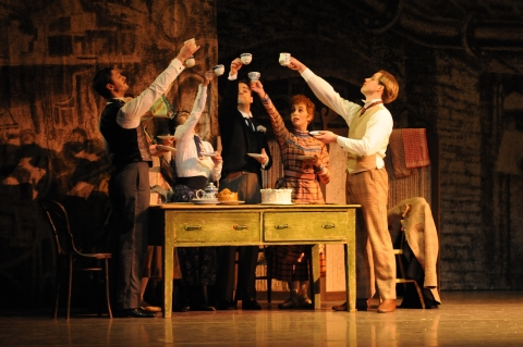 Raising a toast to David Bintley's Hobson's Choice,making a welcome return in 2019Photo Geoff Slack