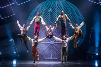The Timbuktu Tumblers in Cirque BerserkPhoto Piet Hein-Out