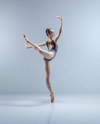 Elmhurst Ballet School Graduate Rebecca HudsonPhoto Johan Persson