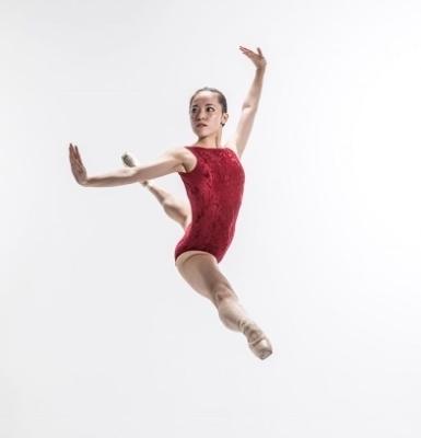 Elmhurst Ballet School Graduate Yuzu HikosakaPhoto Johan Persson