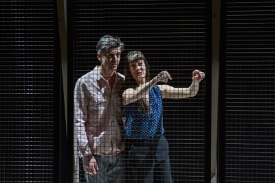 Ben Duke and Solene Weinachter in Juliet and Romeo: A Guide to Long Life and Happy MarriagePhoto Jane Hobson