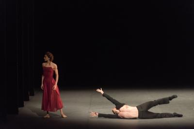 Ekaterina Kondaurova and Roman Belyakov in A FlashbackPhoto Marc Haegeman