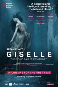 ENB, Akram Khan Giselle film poster