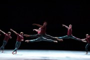 Macho prowess in William Forsythe's new Playlist (Track 1, 2) for English National Ballet