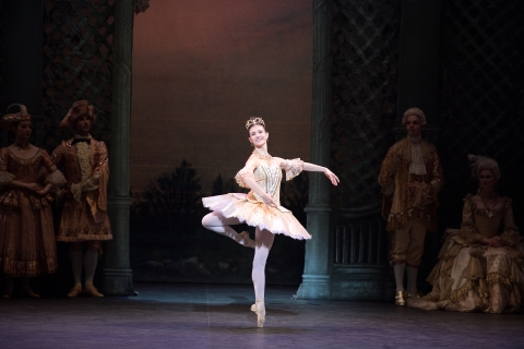 A beauty indeed. Alina Cojocaru dazzles in English National Ballet's Sleeping Beauty