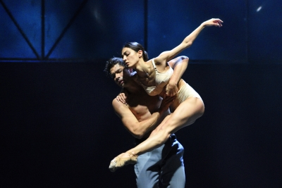 Anatoli Arhangelski and Marta Navasardyan in A Streetcar Named DesirePhoto Harri Rospu