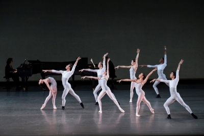 The School of American Ballet in In Creases by Justin PeckPhoto Paul Kolnik