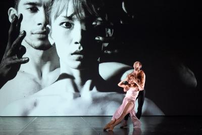 Balkiya Zhanburchinova and Pablo Octávio in The Mist in Our Eyes by Harriet MillsPhoto Jochen Klenk