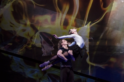 Edvin Revazov and Anna Laudere in Beethoven projectPhoto Kiran West