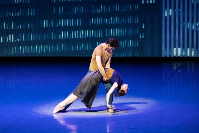 Heather Ogden and Guillaume Côtéin Lonely Town from Bernstein Dances by John NeumeierPhoto Kiran West