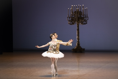 Jillian Vanstone and Garbriele Frola in Rudolf Nureyev's The Sleeping BeautyPhoto Kuran West