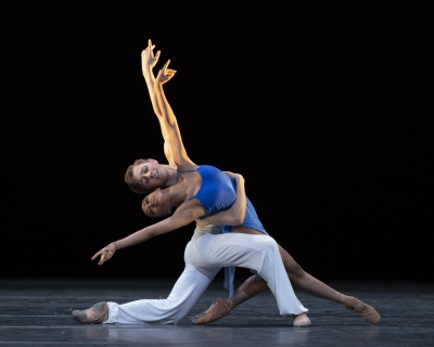 Marianna Tsembenhoi and James Large in Andrew McNicol's Sea InterludesPhoto The Royal Ballet School, Andrej Uspenski