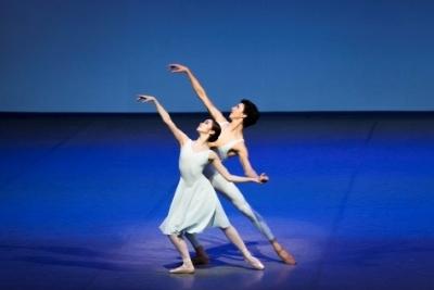Airi Suzuki and Alessandro Frola in Bach Suite 2Photo Kiran West