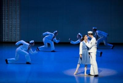 School of Hamburg Ballet in On the TownPhoto Kiran West