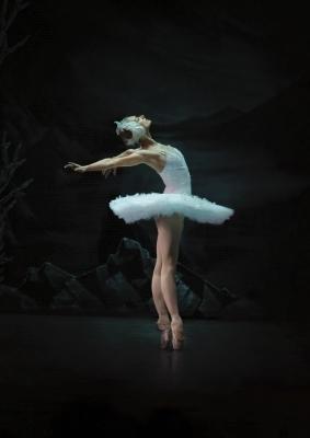 Irina Kolesnikova as OdettePhoto Nina Alovert