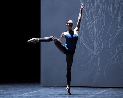 Anna Osadcenko in Christian Spuck's Das Siebte BlauPhoto Stuttgart Ballet