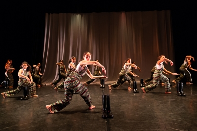34-18 Youth Dance Company in When they come backPhoto Shaun Conway