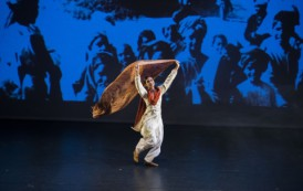 Dance and archive film come together in a tale of the ultimate sacrifice: Akademi's The Troth