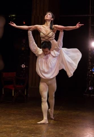 Nao Sakuma as Juliet and Chi Cao as RomeoPhoto Andrew Ross