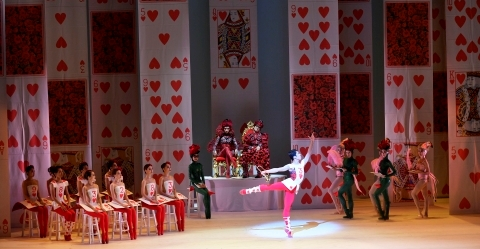 Hong Kong Ballet in Septime Webre's ALICE (in Wonderland)Photo Conrad Dy-Liacco
