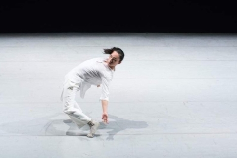 Lin Tse-an in his own Arabesque,which won second prize in the Choreography sectionPhoto courtesy Lin Tse-an