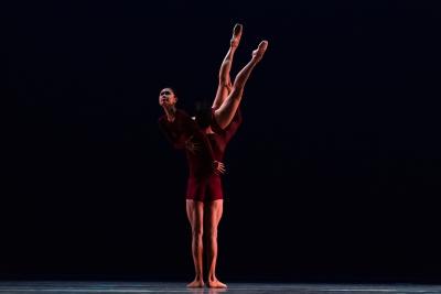 Jessica Xuan and Christiano Principato in EmbersPhoto Michel Schnater