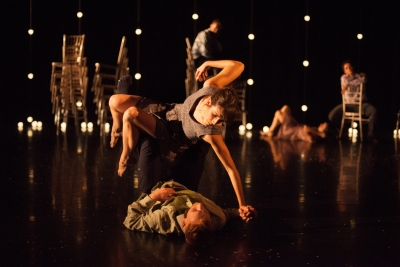 Umanoove in The Knot(dancers: Oihana Vesga and Oliver Chapman)Photo Chris Nash