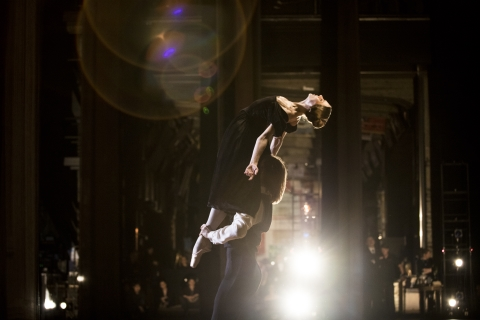 Anna Laudere and Edvin Revazov in John Neumeier's The Lady of the CamelliasPhoto Kiran West