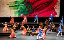 Mark Morris Dance Group and Silkroad Ensemble in Layla and Majnun