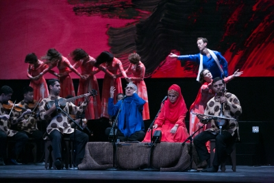 Mark Morris Dance Group and Silkroad Ensemble in Layla and MajnunSusana Millman
