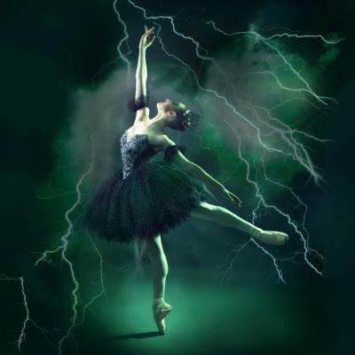 Carabosse in Ballet Theatre UK's The Sleeping BeautyPhoto courtesy Ballet Theatre UK