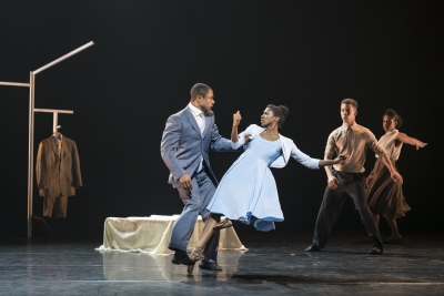José Alvez and Cira Robinson of Ballet Black in Cathy Marston's The SuitPhoto Bill Cooper