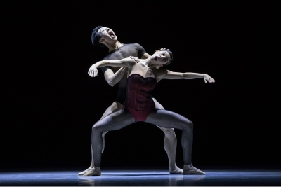 Wei Chen and Constanza Perotta Altube in Bella FiguraPhoto Gregory Batardon